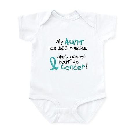 Big Muscles 1.2 TEAL (Aunt) Infant Bodysuit
