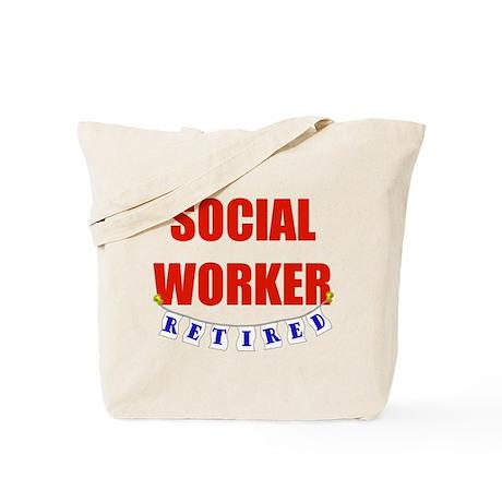Retired Social Worker Tote Bag
