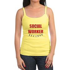 Retired Social Worker Jr.Spaghetti Strap