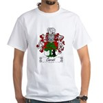 Cerati Family Crest White T-Shirt