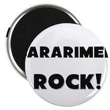 Sararimen ROCK Magnet