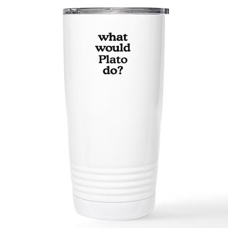 Plato Stainless Steel Travel Mug