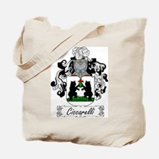 Ciccarelli Family Crest Tote Bag