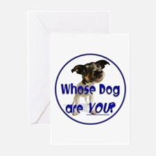 Whose Dog Are You Greeting Cards (Pk of 10)