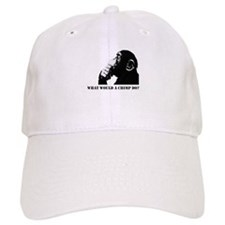 What would a chimp do? Baseball Cap