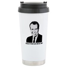 What would Dick do? Travel Mug