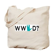 What Would Spock Do? Tote Bag