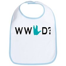 What Would Spock Do? Bib