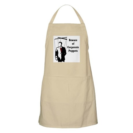 Corporate Puppet BBQ Apron