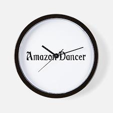Amazon Dancer Wall Clock