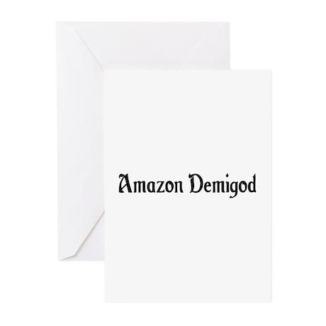 Amazon Demigod Greeting Cards (Pk of 10)