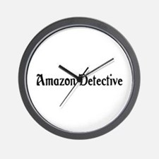 Amazon Detective Wall Clock