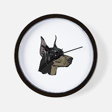 The Distinctive Doberman Wall Clock