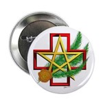 "Sime~gen Christmas 2.25"" Button (100 pack)"