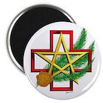 """Sime~gen Christmas 2.25"""" Magnet (100 pack)"""