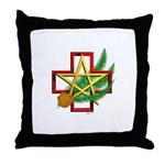 Sime~gen Christmas Throw Pillow
