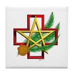 Sime~gen Christmas Tile Coaster