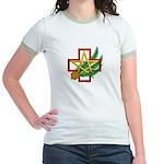 Sime~gen Christmas Jr. Ringer T-Shirt