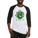 Cicogna Family Crest Baseball Jersey