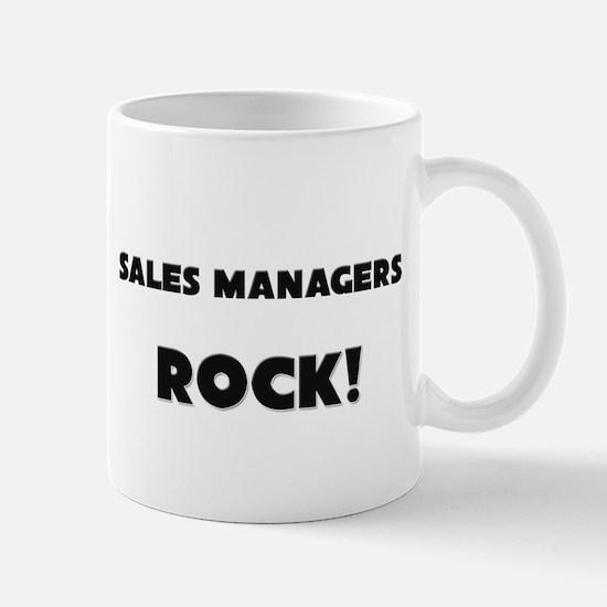 Sales Managers ROCK Mug