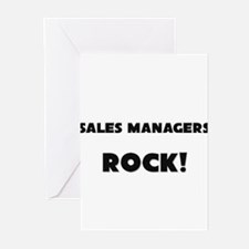 Sales Managers ROCK Greeting Cards (Pk of 10)