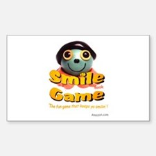 Smile Game Book Rectangle Sticker 10 pk)