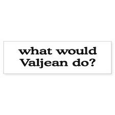 Valjean Bumper Bumper Sticker