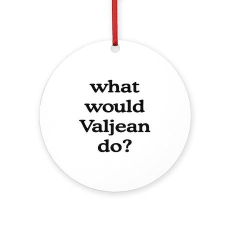 Valjean Ornament (Round)