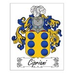 Cipriani Family Crest Small Poster