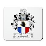 Clementi Family Crest Mousepad
