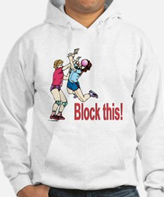 VOLLEYBALL BLOCK THIS Hoodie
