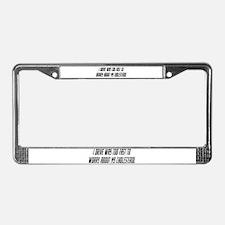 Rallies License Plate Frame