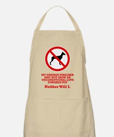 German Pinscher BBQ Apron