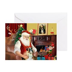 Xmas Magic - 3 Boxers Greeting Cards (Pk of 20)