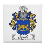 Coppola Family Crest Tile Coaster