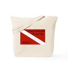 Funny Padi Tote Bag