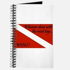 Funny Scuba flag Journal