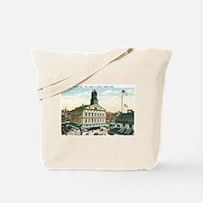 Boston Massachusetts MA Tote Bag