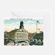 Boston Massachusetts MA Greeting Card
