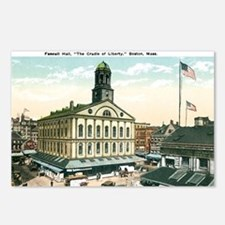 Boston Massachusetts MA Postcards (Package of 8)