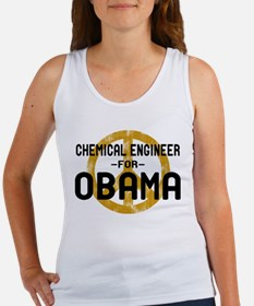 Chemical Engineer for Obama Women's Tank Top