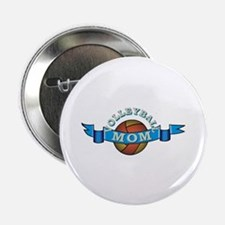 """VolleyBall Mom 2.25"""" Button"""