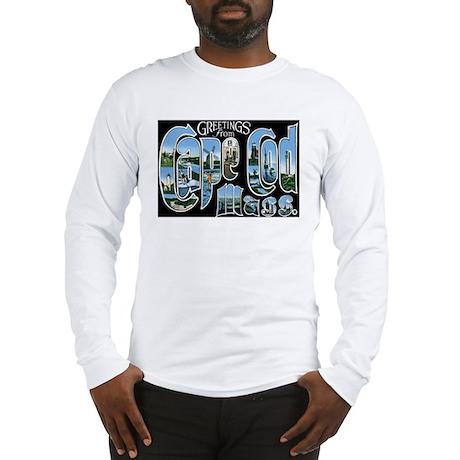 Cape Cod Massachusetts MA Long Sleeve T-Shirt