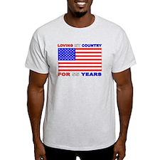 Patriotic 55th Birthday T-Shirt