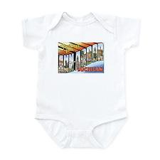 Ann Arbor Michigan MI Infant Bodysuit