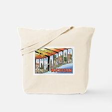 Ann Arbor Michigan MI Tote Bag