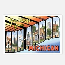 Ann Arbor Michigan MI Postcards (Package of 8)