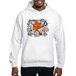 Powered By Halloween Hooded Sweatshirt