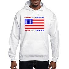 Patriotic 40th Birthday Hoodie