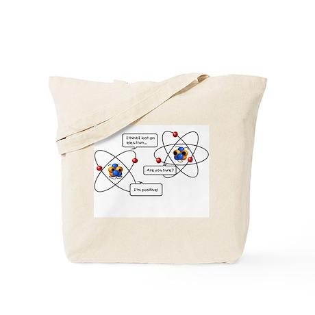 Atom Joke Tote Bag